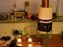 vacuum tube tesla coil