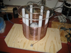 tesla coil primary