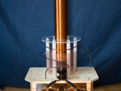 tesla coil finished