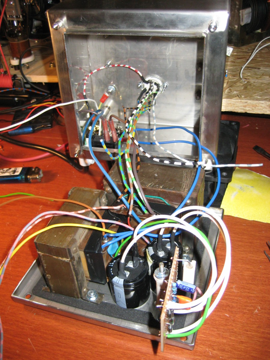 2w Ucl82 Se Tube Amplifier Kaizer Power Electronics Wiring Guitar Jack Socket Img 1391
