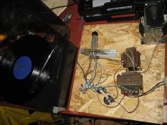 2W UCL82 SE amplifier test