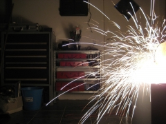 capacitor bank sparks