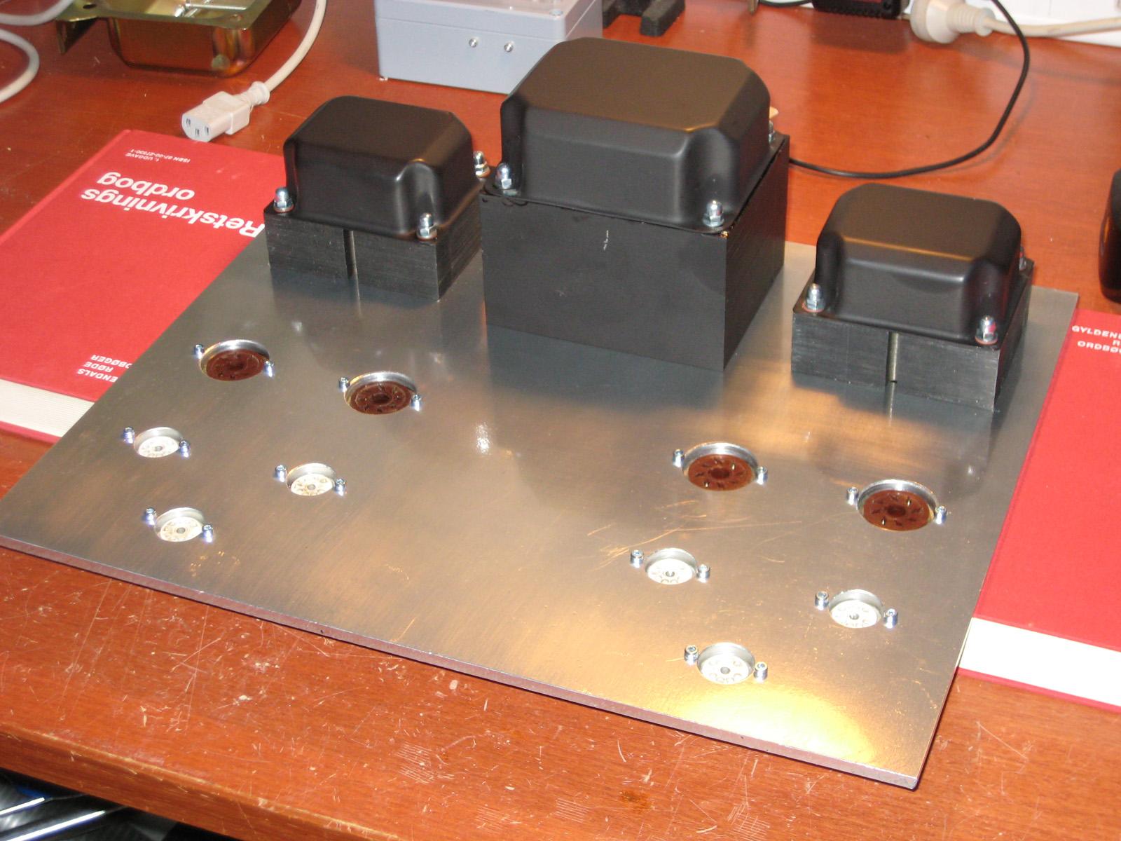 2x30w El34 Tube Amplifier Kaizer Power Electronics Stereo Circuit Diagram Amplifiercircuit Img 1697
