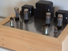 EL34 tube amplifier finished