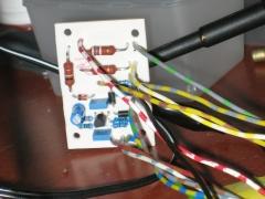 EL34 tube amplifier EM800 VU meter