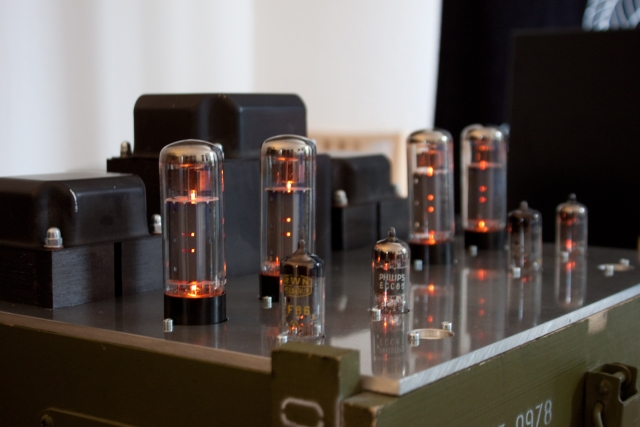 EL34 tube amplifier test