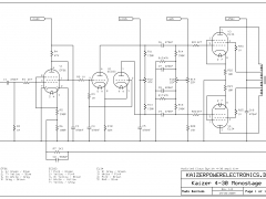EL34 tube amplifier schematic