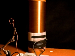 Tesla coil secondary