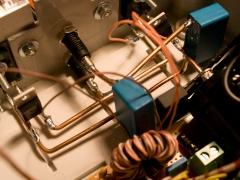 Tesla coil SSTC circuit