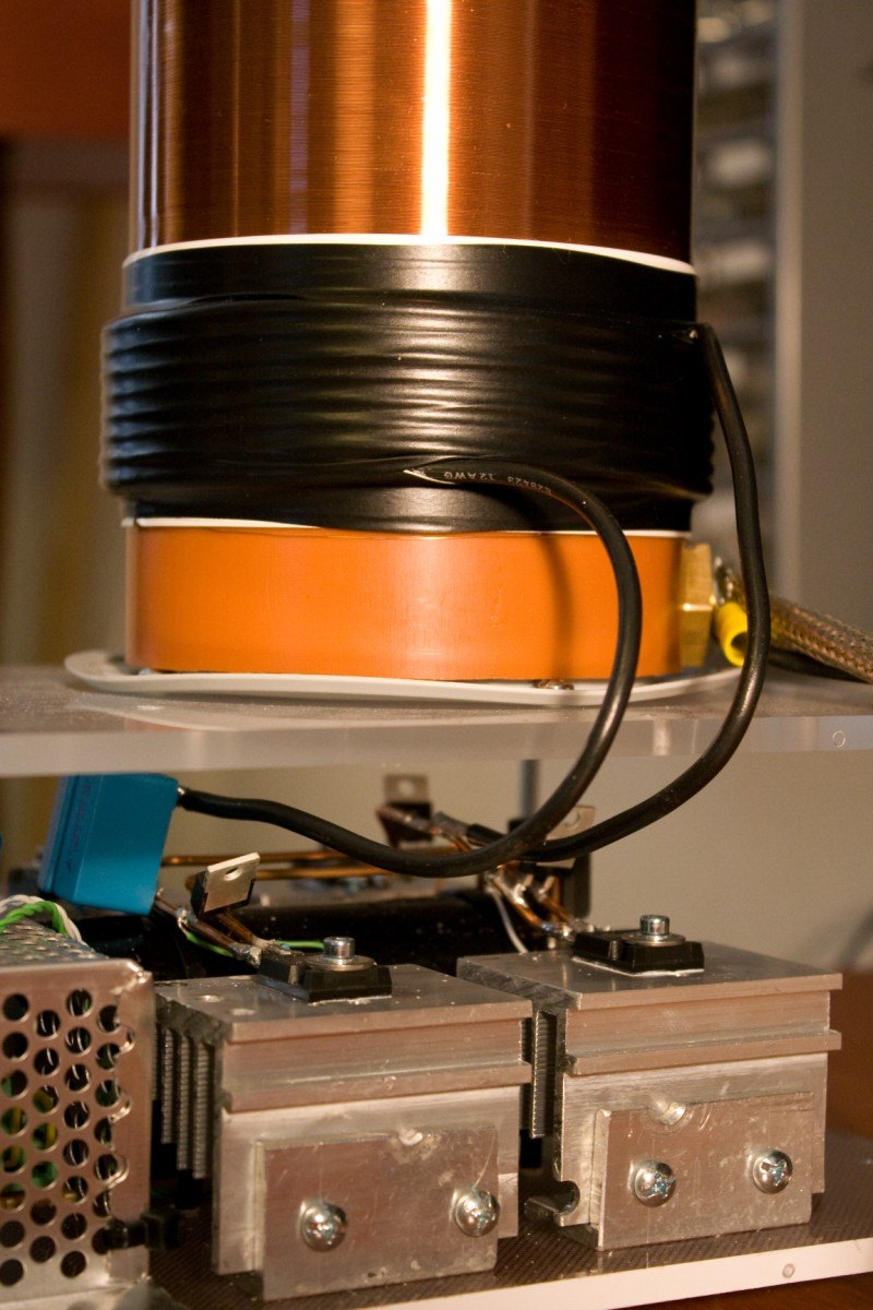 Tesla coil SSTC primary