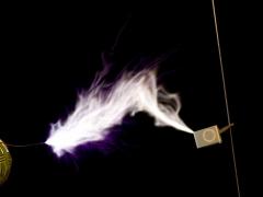 Tesla coil SSTC sparks CW mode  5