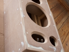 isophon speaker cabinet construction