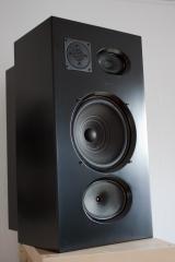 isophon speaker cabinet finished