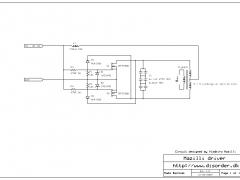 Mazilli flyback driver schematic