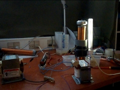 Tesla coil VTTC vacuum tube PL36