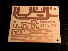 Tesla coil SSTC printed circuit board pcb