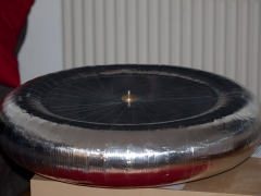 tesla coil DRSSTC topload toroid construction