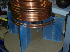 tesla coil DRSSTC primary coil winding