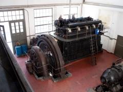 Thrige diesel engine generator and dynamo