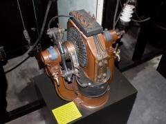 Thrige first AC motor