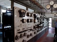 Thrige diesel engine generator meters