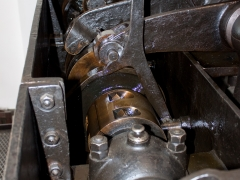 Thrige diesel engine generator  open crank