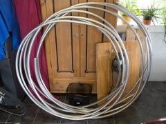 Tesla coil large DRSSTC topload ring tube toroid