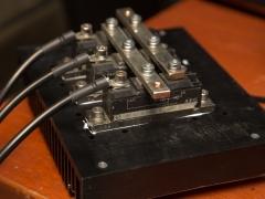Tesla coil large DRSSTC rectifier