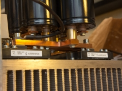 Tesla coil large DRSSTC CM600 IGBT full bridge