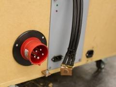 Tesla coil large DRSSTC inupt power plug