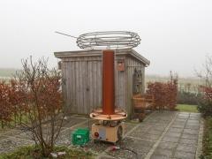 Tesla coil large DRSSTC first test