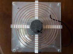 Tesla coil DRSSTC primary coil