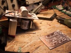 Tesla coil DRSSTC circuit board