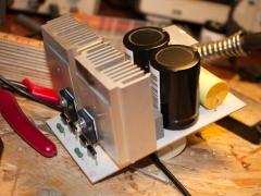 Tesla coil DRSSTC half bridge circuit board