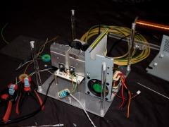 Tesla coil DRSSTC construction