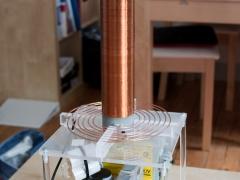 Tesla coil DRSSTC complete