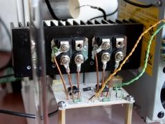 Tesla coil DRSSTC half bridge IXGN60N60 IGBT