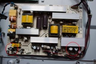 LCD TV repair power supply