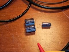 LCD TV repair defective capacitor