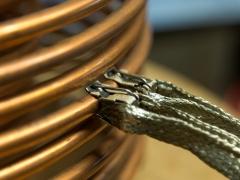 Tesla coil DRSSTC primary coil tap