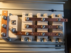 Tesla coil DRSSTC half bridge