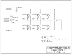 Tesla coil DRSSTC schematic