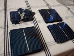 DIY homemade solar panel power generation cells