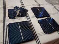 DIY homemade solar panel power generation cells