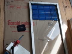 DIY homemade solar panel power generation frame
