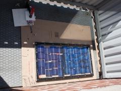 DIY homemade solar panel power generation construction