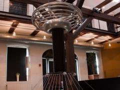 Tesla coil Finn Hammer and Daniel Uhrenholt