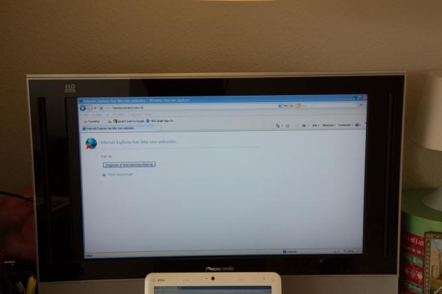 LCD TV repair works again