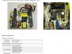 LCD TV repair find IC name