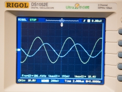 Induction heater work coil waveform